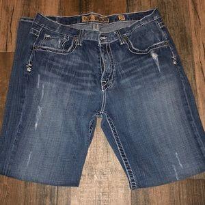 Lightly distressed men's BKE jeans